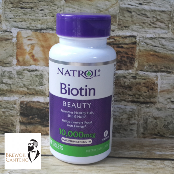 Biotin Natrol 10.000 mcg