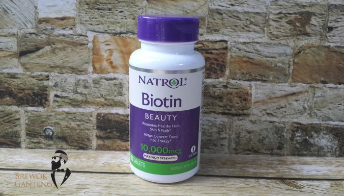 Jual Biotin Supplement Menumbuhkan Brewok Kumis Jenggot Jambang